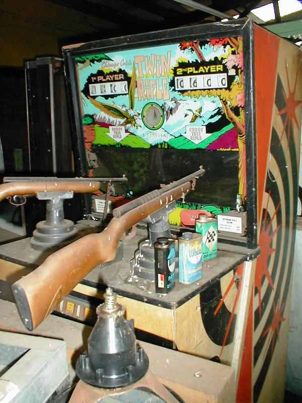 Chicago Coin Twin Rifle arcade game