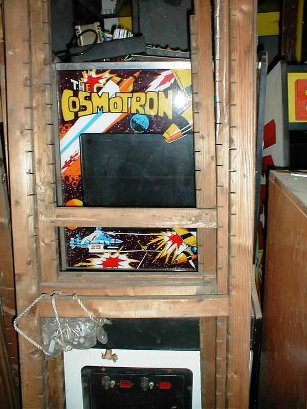 The Cosmotron arcade game