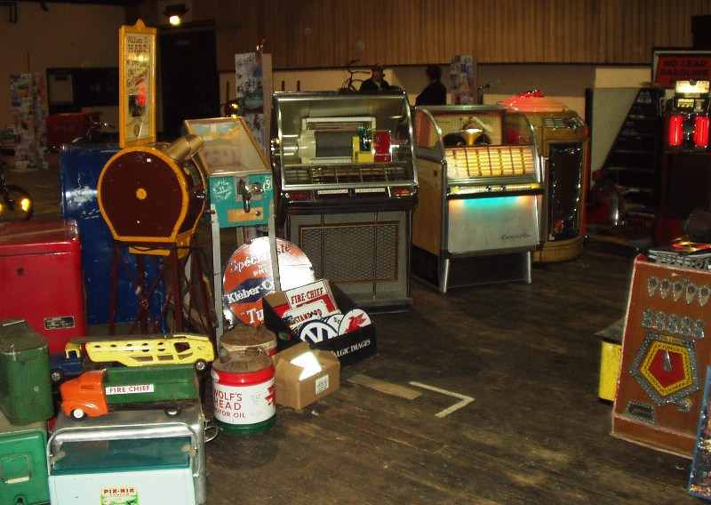 Jukebox and Mutoscope for sale