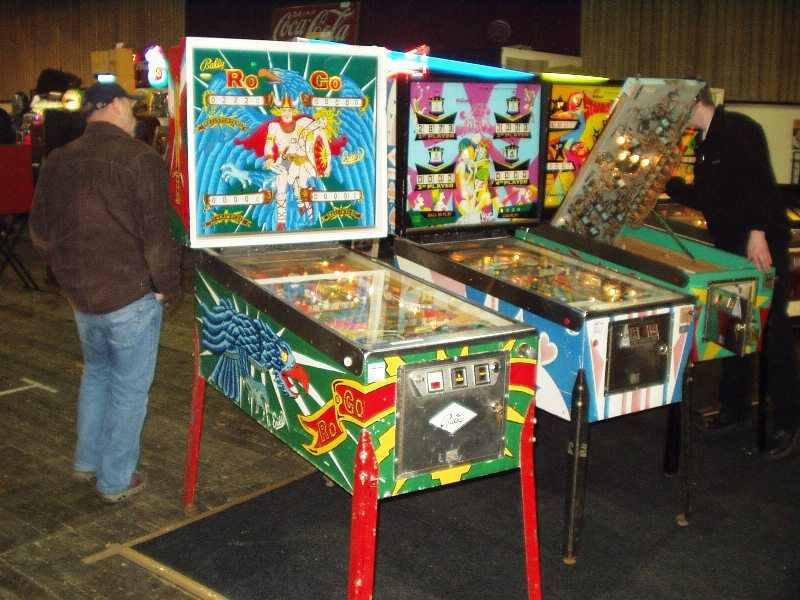 Ro Go pinball machine