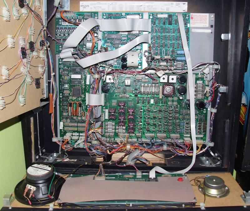 The Machine bride of pinbot Pinball sound chip set